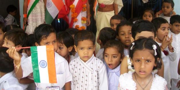 Young comrades of Future India!